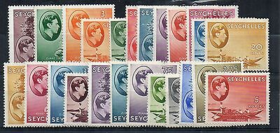 Seychelles 1938-49 values to 5r MLH/MH