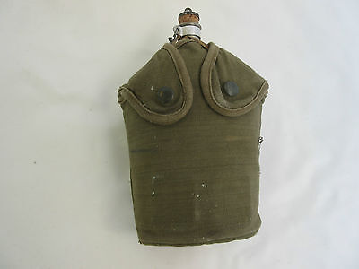 French Army Legion Indochina Water Bottle + Cover Canteen Algerie 1947 Mint NAM