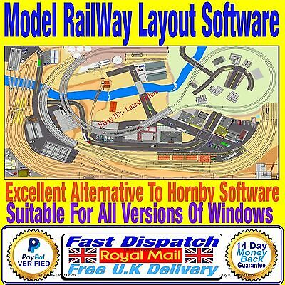 Design & Build Model Railway Hornby Track Plans with this Simple CAD Software OO