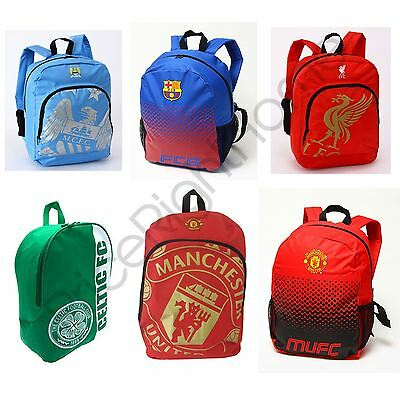 Football Backpacks Boys School Bag Rucksack - Barcelona, Liverpool & More