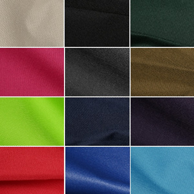 Soft Draping Canvas Fabric Water Resistant PU Coated Outdoor