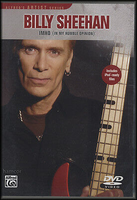 Billy Sheehan IMHO In My Humble Opinion Bass Guitar DVD