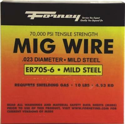 New Forney 42287 Welding Wire 10 Lb Spool .035 Mig Welder 8909822