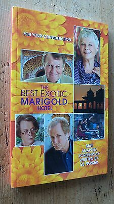 THE BEST EXOTIC MARIGOLD HOTEL FYC For Your Consideration screenplay script book