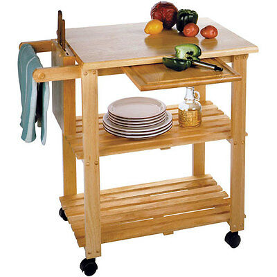 Rolling Kitchen Mobile Utility Cart