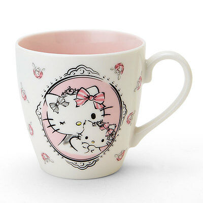 Hello kitty x Charmmy kitty Mug cup Special Birthday F/S MADE IN JAPANfrom JAPAN