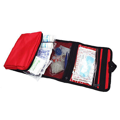 38Pc First Aid Emergency Kit Tool Car Home Medical Camping Outdoor Travel Office