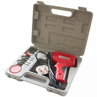 175W Electric Diy Soldering Iron Tool Gun Kit With Accessories Set In Carry Case