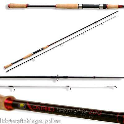 New Lineaeffe Ontario Carbon Spinning Spin Fishing Rod  10-30G 6ft 7ft 8ft