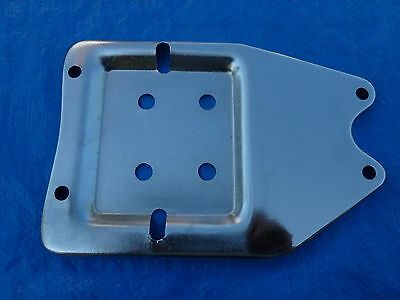 New Nos Chrome Battery Base Plate Harley Knucklehead Panhead El Fl 1940-1964