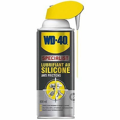 Bombe Wd 40  Silicone Multi Usages 400 Ml Anti Frictions