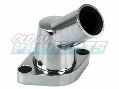NICE CHROME Thermostat Housing -The Neck Swivels - for 305 350 Engines -NEW-D13