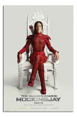 Hunger Games Mockingjay Part 2 Katniss Throne Poster - Maxi Size 36 x 24 Inch