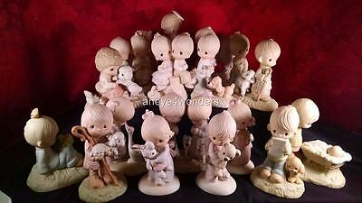 PRECIOUS MOMENTS - 20 of the Orig 21 Figurines! UM/UN-MWOB TIMELESS, MEANINGFUL!