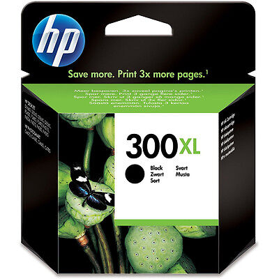 Genuine / Original HP 300XL / CC641EE Black Printer Ink Cartridge