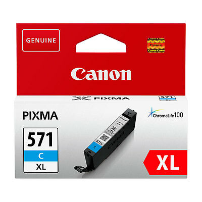Canon Original CLI-571 XL C Ink Cartridge Cyan