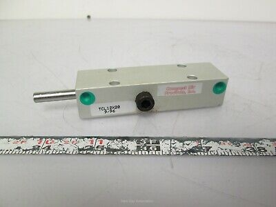 New Compact Air TCL12X20 Pneumatic Rotary Cylinder 12mm x 20mm Stroke 1/4 Turn