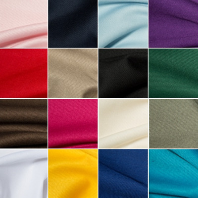 Polycotton Gaberchino Twill Fabric Suiting Skirts Chinos Workwear