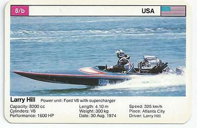 Top Trumps - World Record Holders - Card 8B - Larry Hill (Amqg)