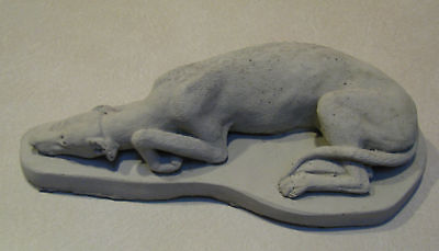Solid Concrete Greyhound/ Whippet  Dog Statue /monument