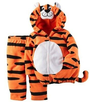 Carter's NWT 9M 12M Microfleece Little Tiger Costume Infant Baby Boy