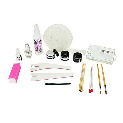Kit remplissage Faux Ongles Gel UV Monophase Manucure France Ongles Nail Art