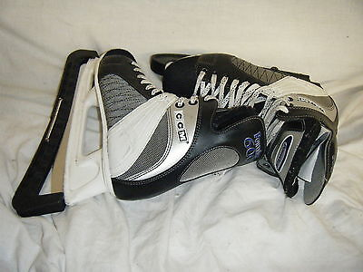 C4 Powerline 600 CCM Ice Skates Size 7  Well Used