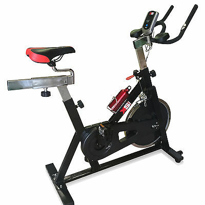 Pro Exercise Spin Bike Training Fitness Cardio Workout Cycle Machine-Home Gym