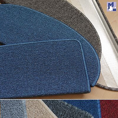 MITEX stair mat TIM RODEO flat Carpet in 5 Colours with Metal bracket
