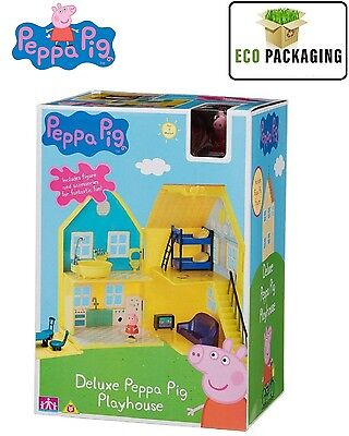 Peppa Pig deluxe playhouse Play House & figures and accessories Age 18m+ Toy