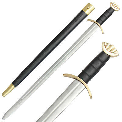 Medieval Noble Savage Brass Viking Battle War Sword Collectible Replica