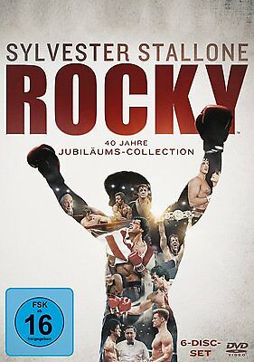 Rocky 1-6 The Complete Saga 1 2 3 4 5 6 Dvd Deutsch
