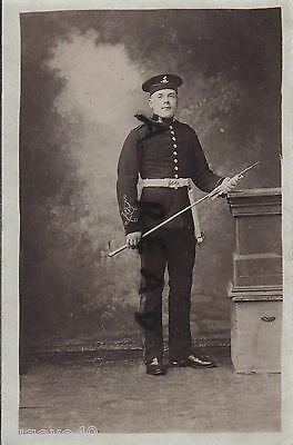 Private 7th Dragoon Guards Full Dress in Broderick Cap Excellent study