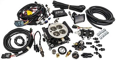 FAST 30227-06KIT EZ-EFI Self-Tuning Fuel Injection Master Kit; Includes: