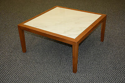 STOW DAVIS VINTAGE MID CENTURY MOD marble Modern side end coffee eames era table