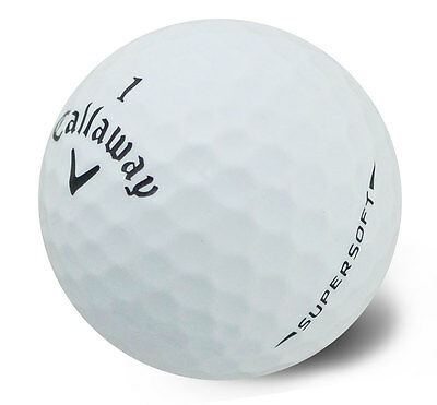 25 Callaway SUPERSOFT Lake Golf Balls - PEARL / GRADE A - from Ace Golf Balls