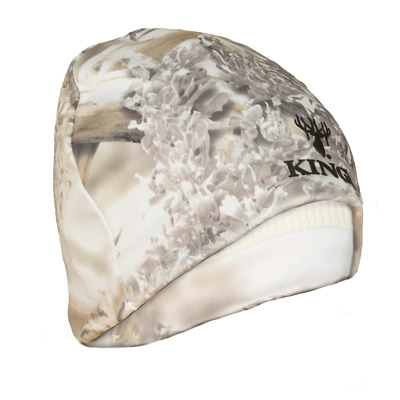 King's Camo Beanie Snow Shadow Reversible Camouflage Hunting KCG3003-SS