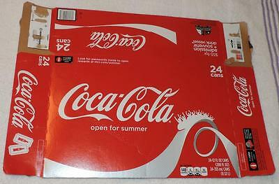 Nm 2013 Usa Coca-Cola Summer Sports Empty 24-Pack Can Carton/case  - Carowinds