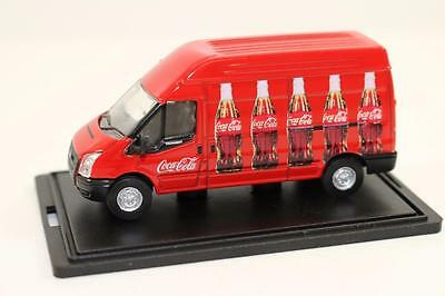 OO 1:76 Oxford 76FT013CC Ford Transit van Coke FNQHobbys (OX291)