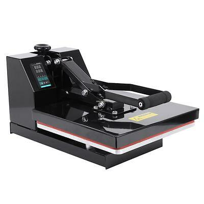 "15""x15"" Digital Clamshell Flat Heat Press Transfer T-Shirt Sublimation Machine"