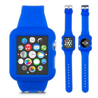 kwmobile  SILICONE WATCH STRAP WITH CASE FOR APPLE WATCH 42MM (SERIES 1 SERIES