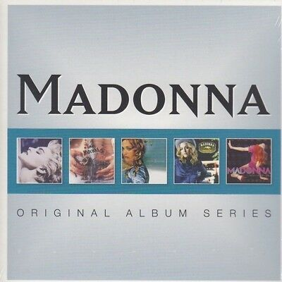 Madonna / True Blue, Ray Of Light, Music, Like A Prayer u.a. (5 CDs, NEU!)
