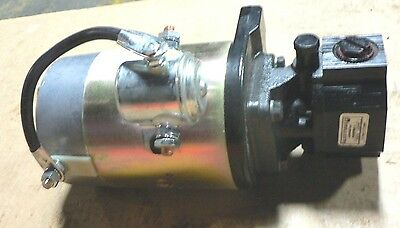 Haldex Gear Pump G1108E1A120N00 , On Motor 2201094 12V