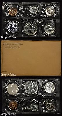 1959 Proof Set With COA ~ Flat Pack Original Envelope ~ US Silver Mint Coin Set