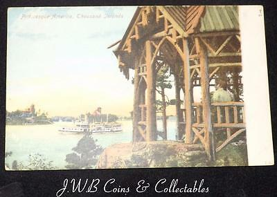 Old Postcard Of Picturesque America, Thousand Islands 1907