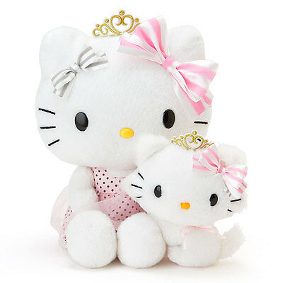 Hello kitty x Charmmy kitty Plush Special Birthday F/S from JAPAN