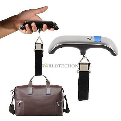 10g 50Kg Digital Electronic Portable Luggage Suitcasel Bag Weight Hanging Scales