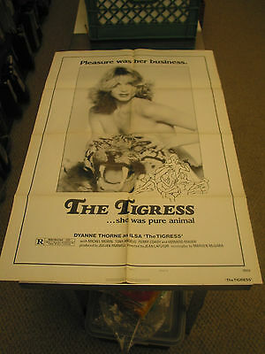 The Tigress /orig. U.s. One Sheet Movie Poster (Dyanne Thorne)