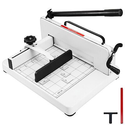 "12"" Manual Guillotine Paper Cutter Trimmer Machine Commercial Heavy Duty A4"