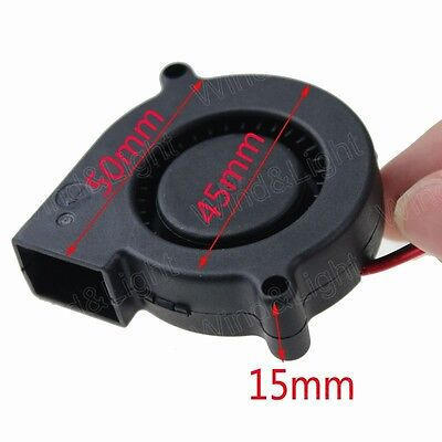 50MM X 50MM X 15MM 5015 DC 24V 0.1A Brushless Blower Cooling Fan Mute New